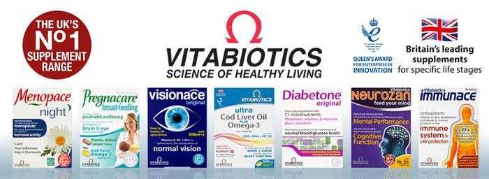 英国vitabiotics维百莱保健品